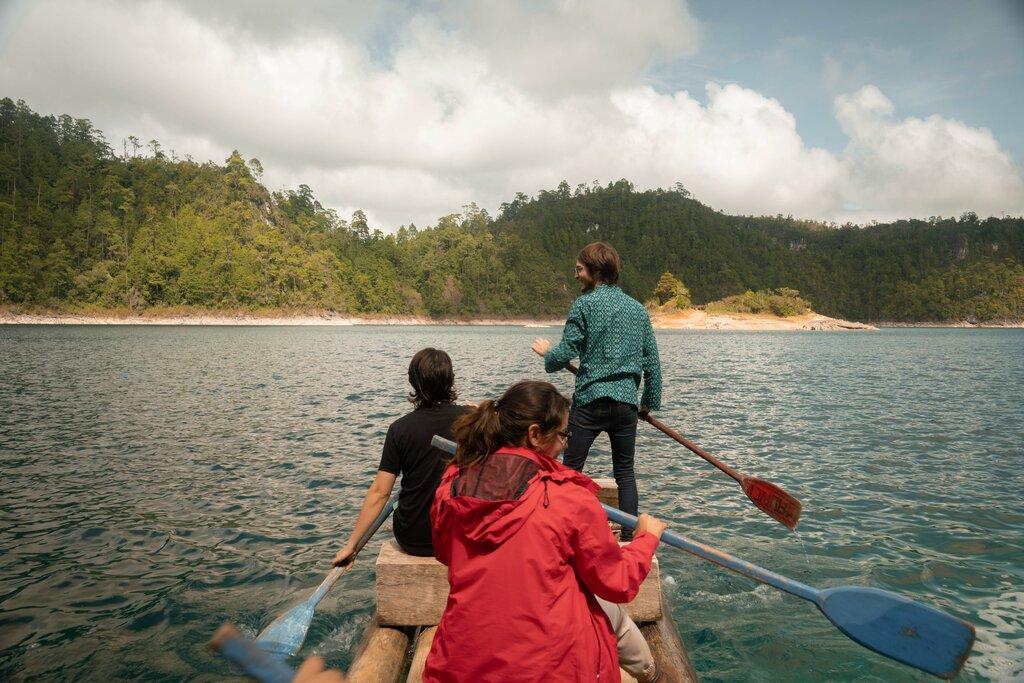 Raft tour in Montebellos lakes