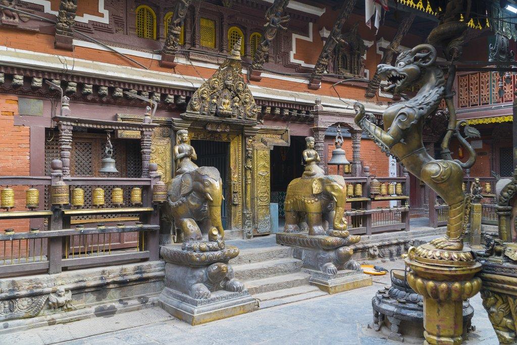 Golden Temple at Patan Durbar