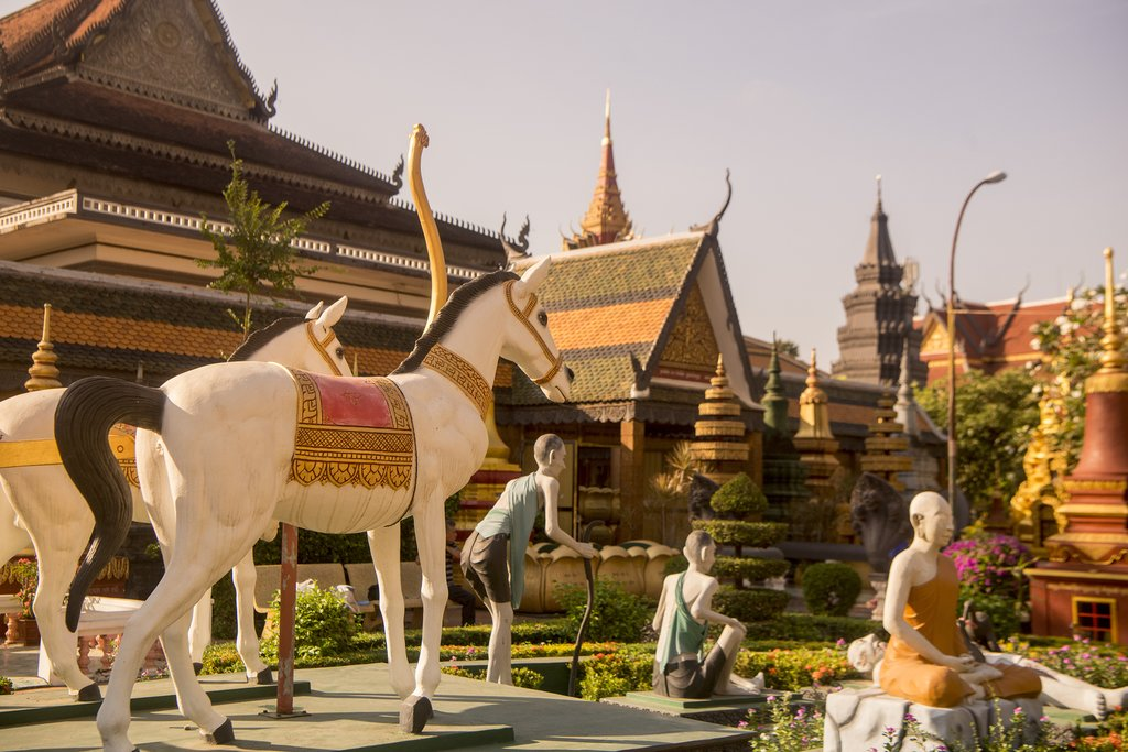 Wat Prohm Roth Temple, Siem Riep