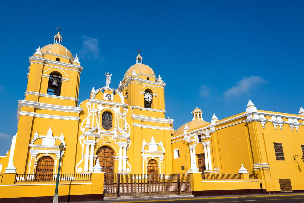 Trujillo's Cathedral Basilica of St. Mary