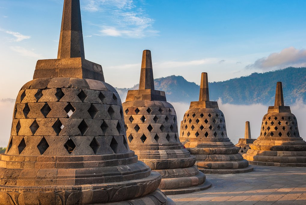 Borobudur is the largest Buddhist temple in the world
