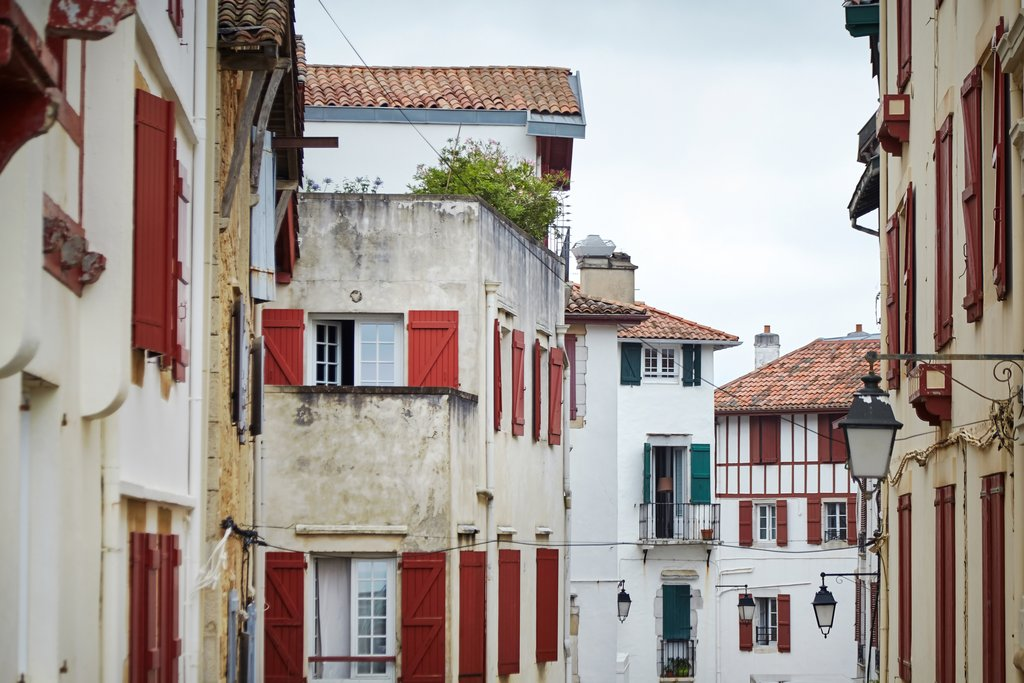 Traditional architecture of St Jean de Luz