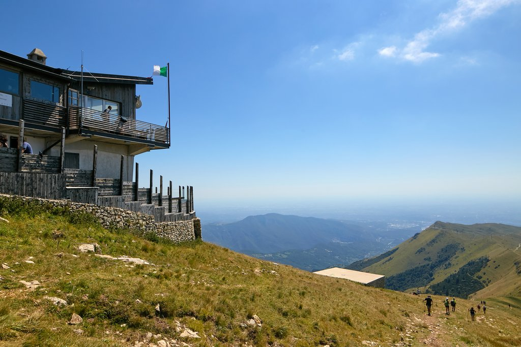 Restaurant at the top of Mount Baldo