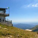 Restaurant at the top of Mount Baldo