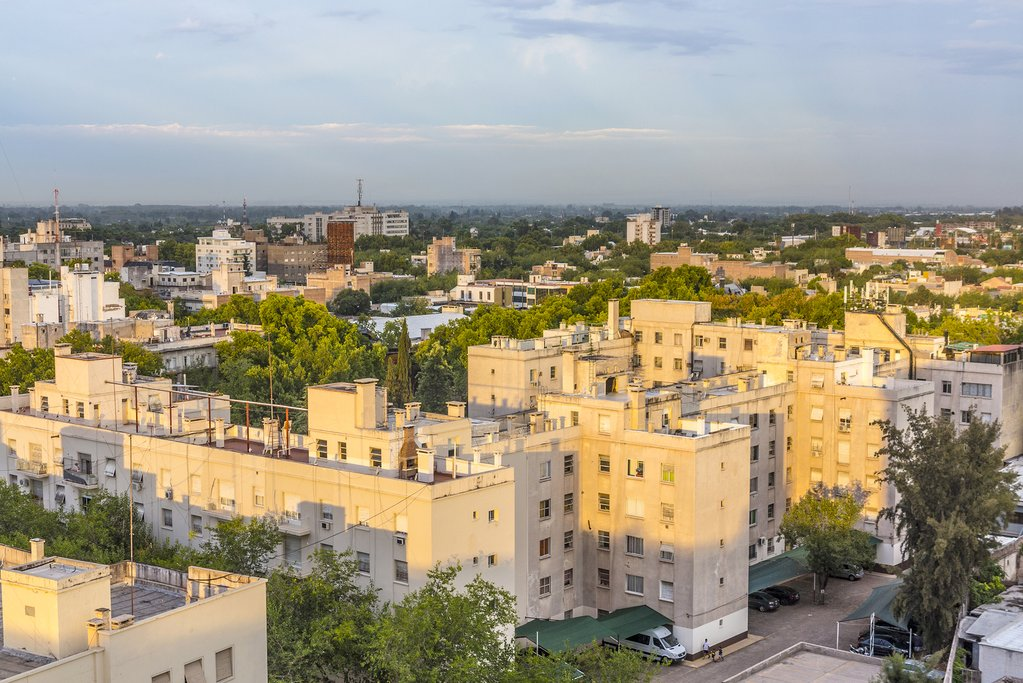 Mendoza's charming skyline