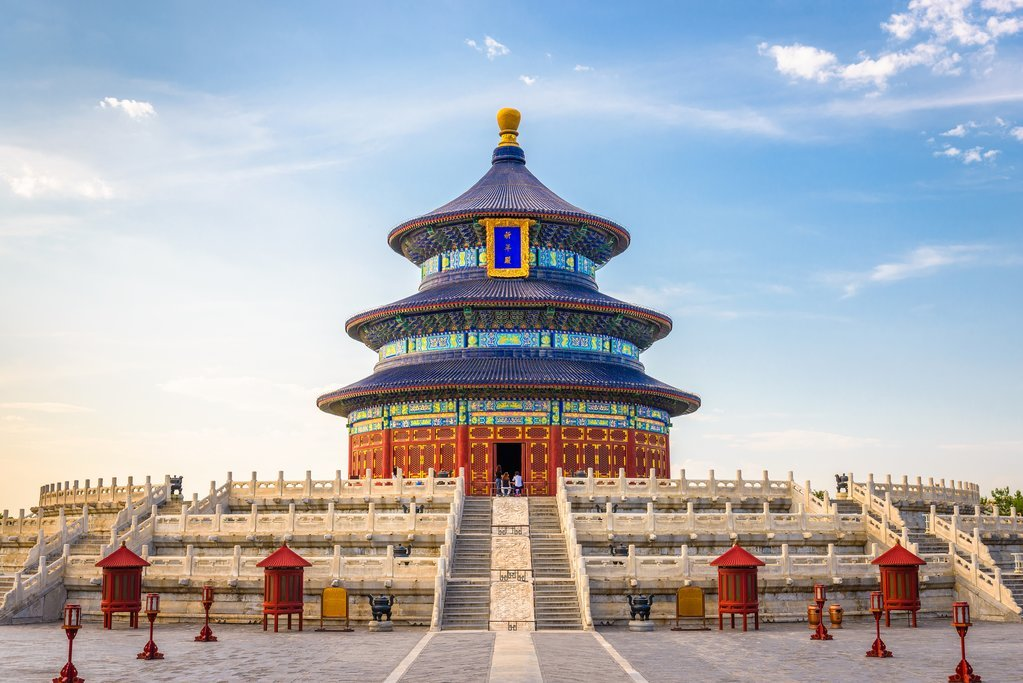 The Temple of Heaven was built in the 15th century