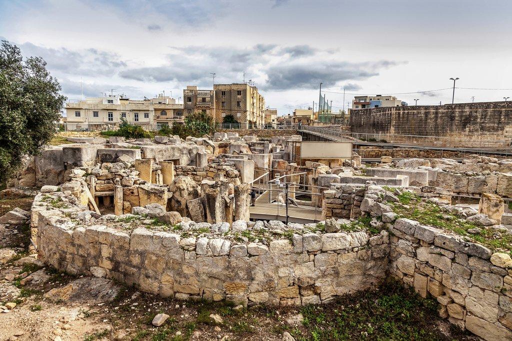Hagar Qim Megalithic Temple
