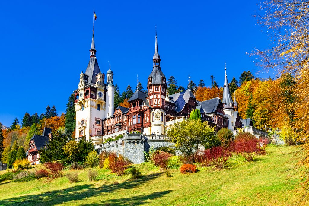 Peles Castle, Sinaia, Prahova County, Romania
