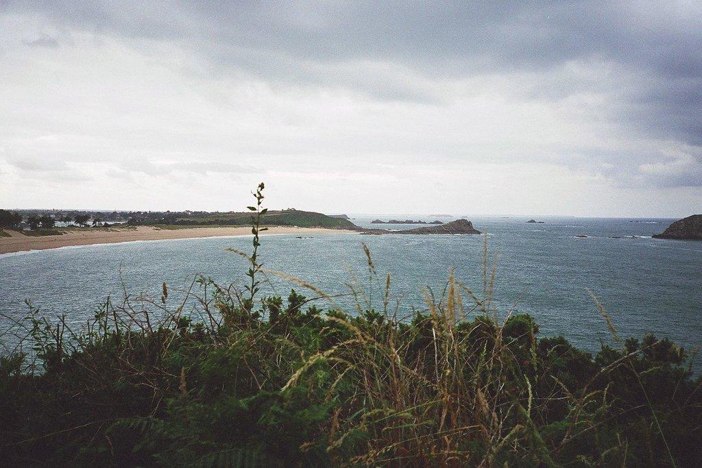 Admire Normandy's coast