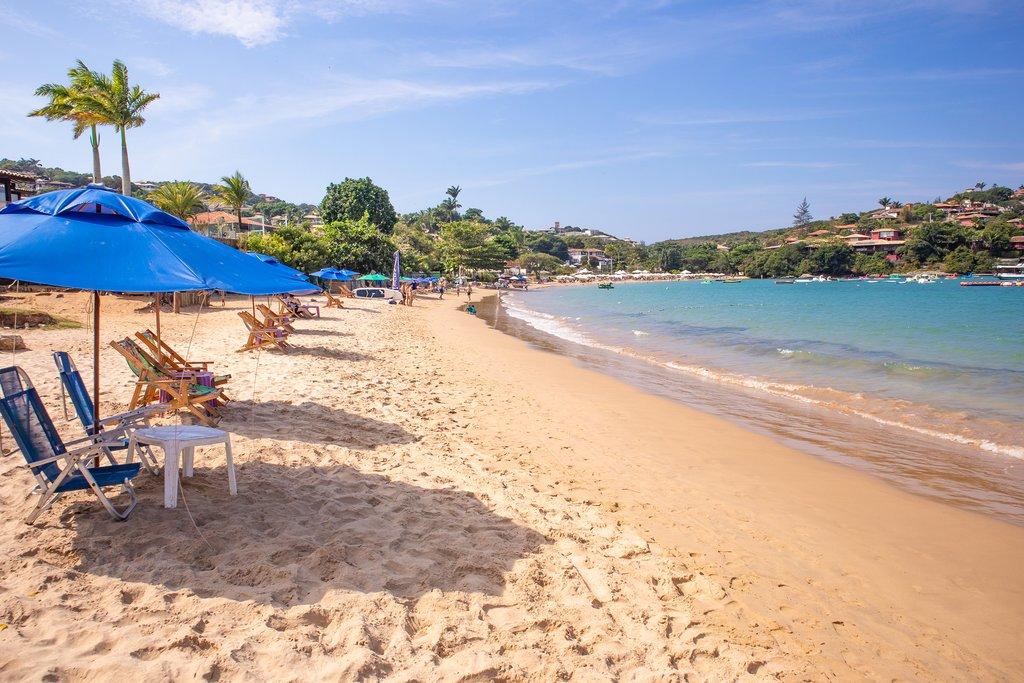 Beautiful Ferradura Beach in Búzios