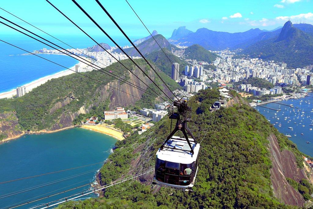 Ride to Sugar Loaf Mountain in Rio de Janeiro