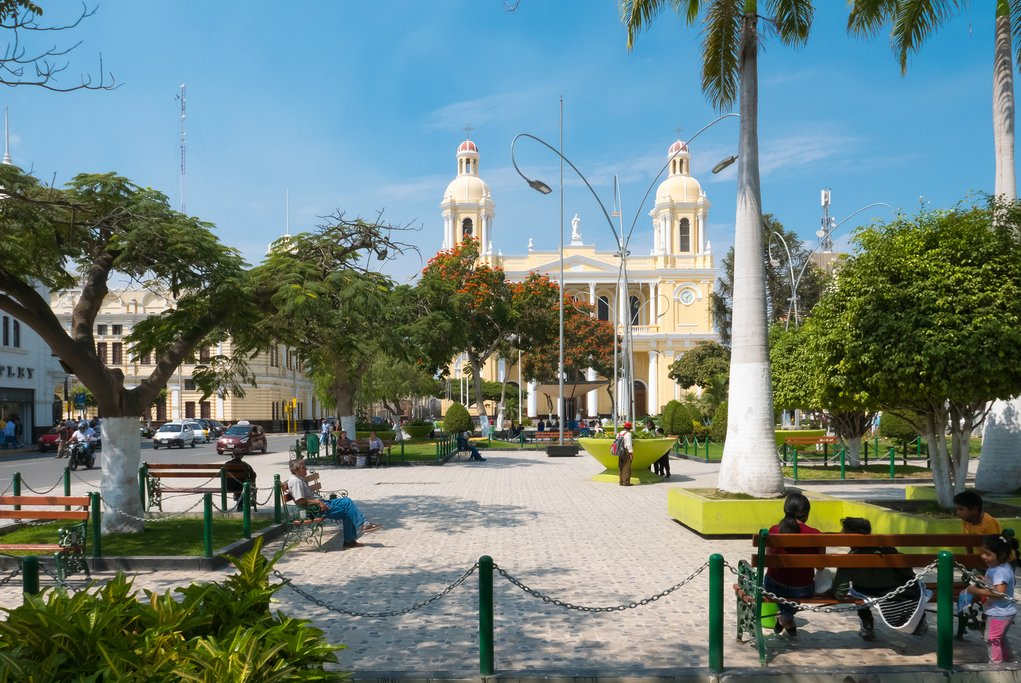 Spend an afternoon touring the city of Chiclayo