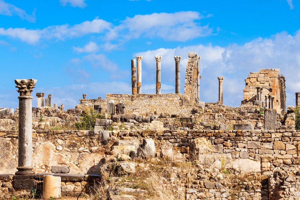 The Volubilis near Meknes