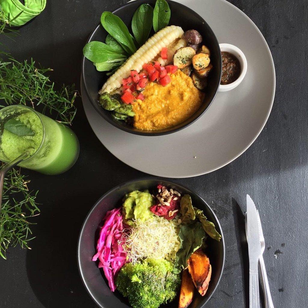 found a vegan restaurant | Photo taken by Darina B