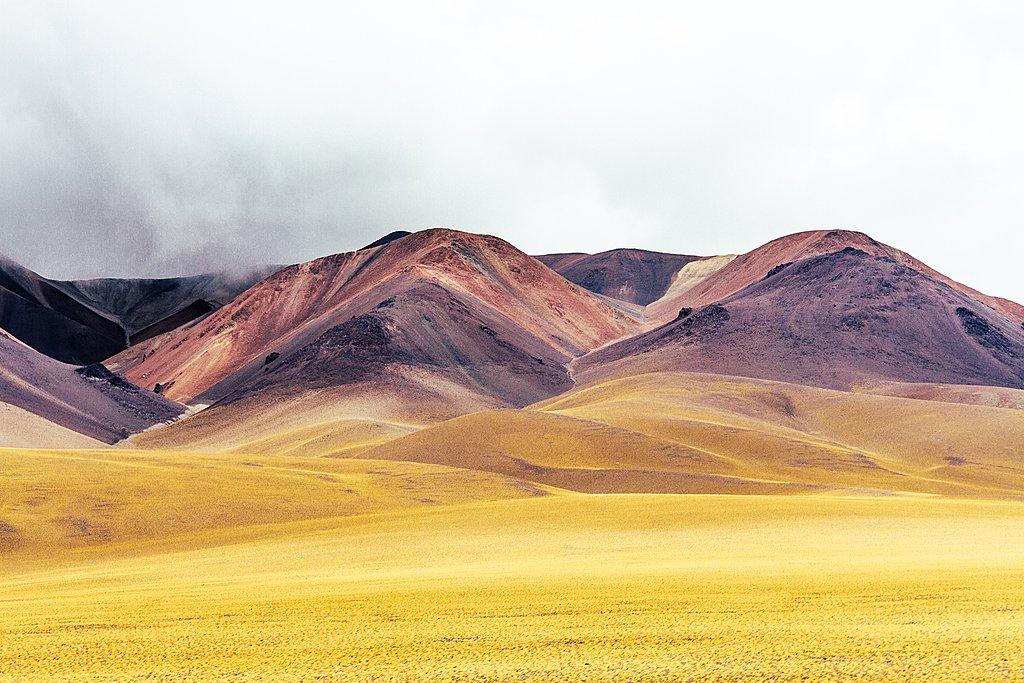 The otherworldly landscape near Salar de Antofalla