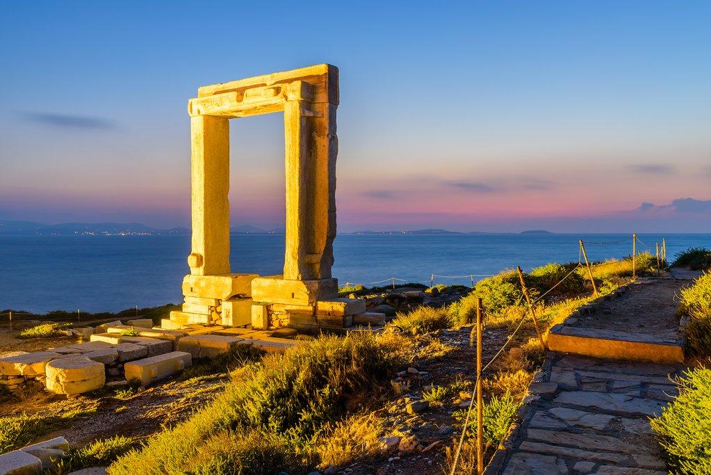 Apollo Temple in Naxos, Greece