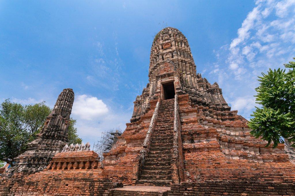 Wat Chai Wattanaram in Ayutthaya, Thailand