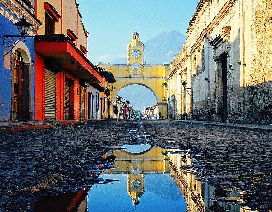 Antigua's famous Santa Catalina Arch