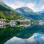 The town of Odda, in Hordaland County, from which you'll embark