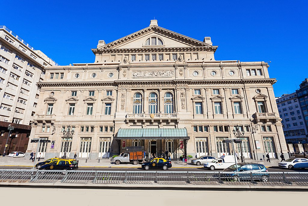 The Teatro Colón opera house