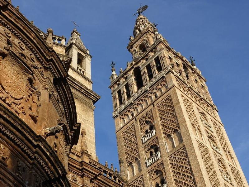 Sevilla's Cathedral spire 'La Giralda'