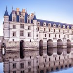 Chenonceau at sunset