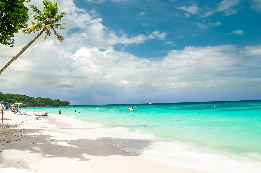 Playa Blanca on Island Baru