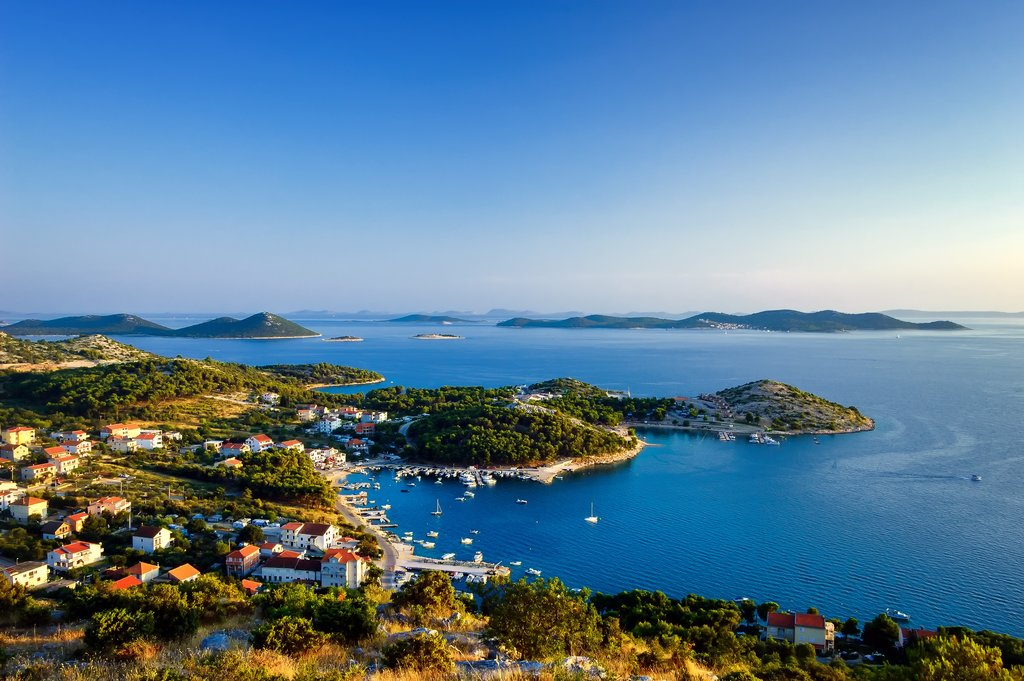 The beautiful Kornati Islands off the coast of Zadar