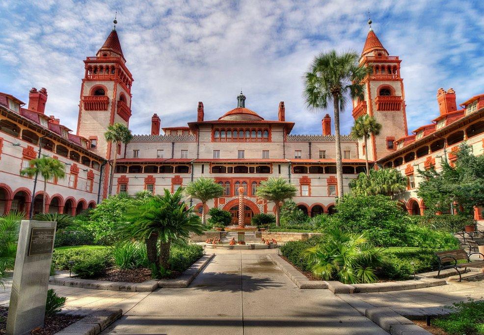 Flagler College, courtesy of Wikipedia