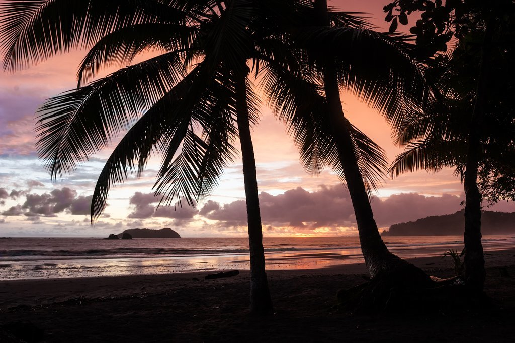Following a sunset sail, enjoy the evening in Manuel Antonio