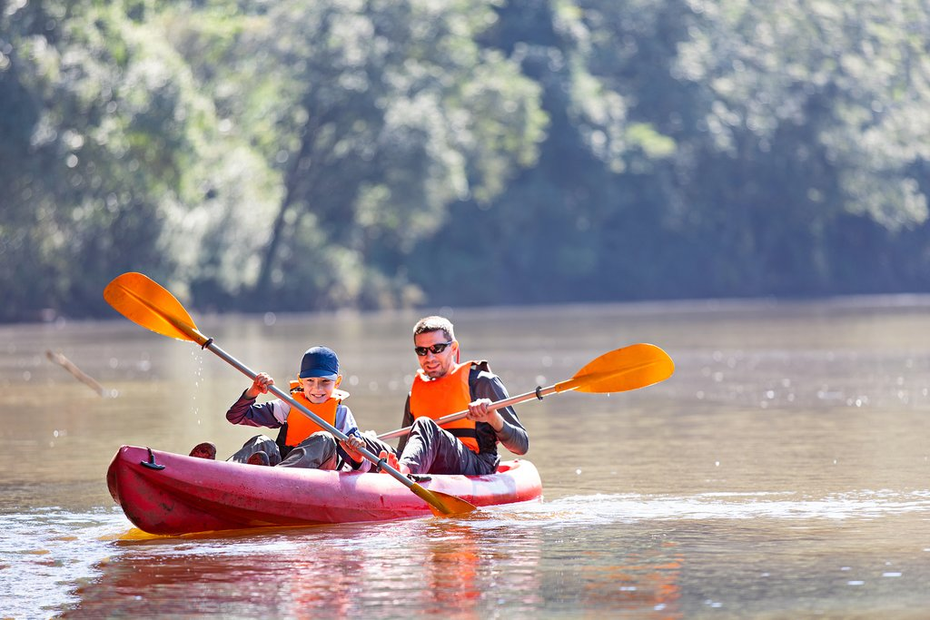 Boating Along the Rivers and Bays in Argentina
