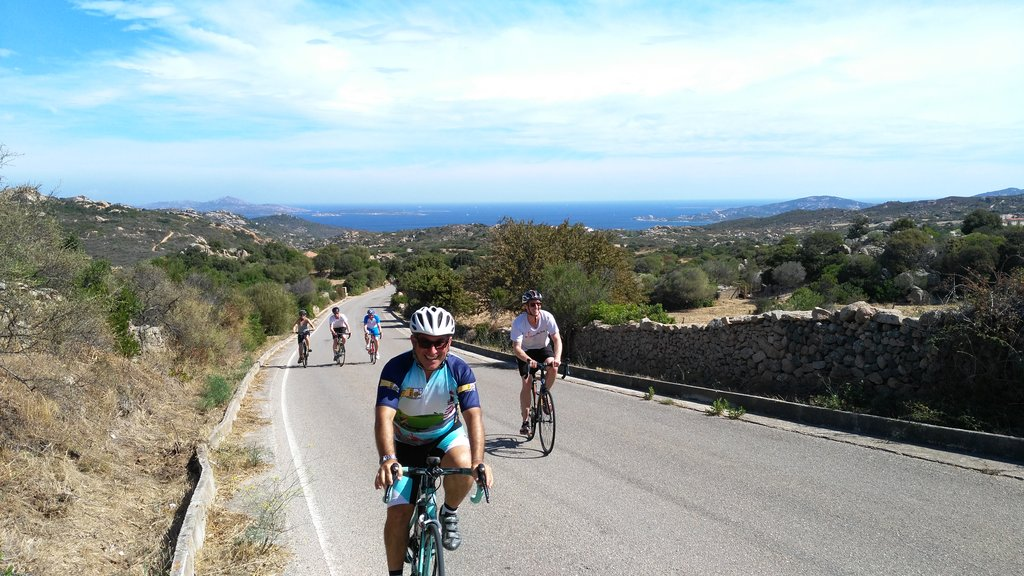 Costa Smeralda cycling