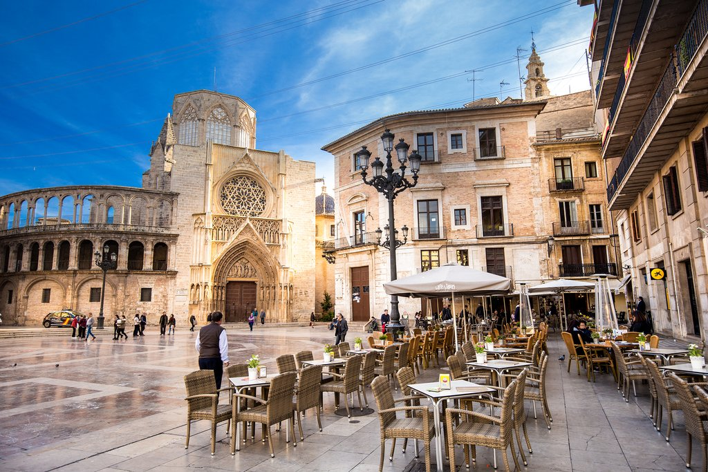 Streets and Squares in Valencia