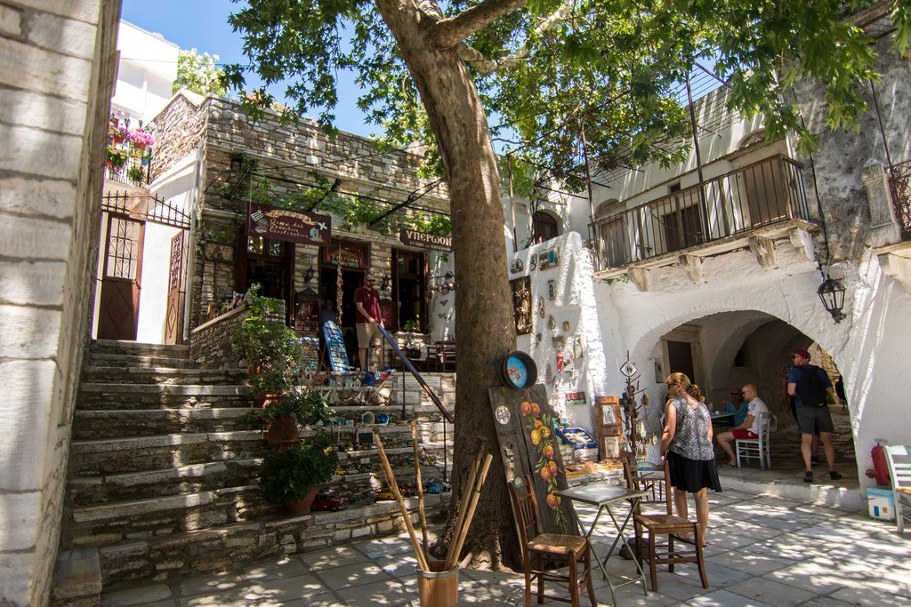 The Quaint Streets of Naxos