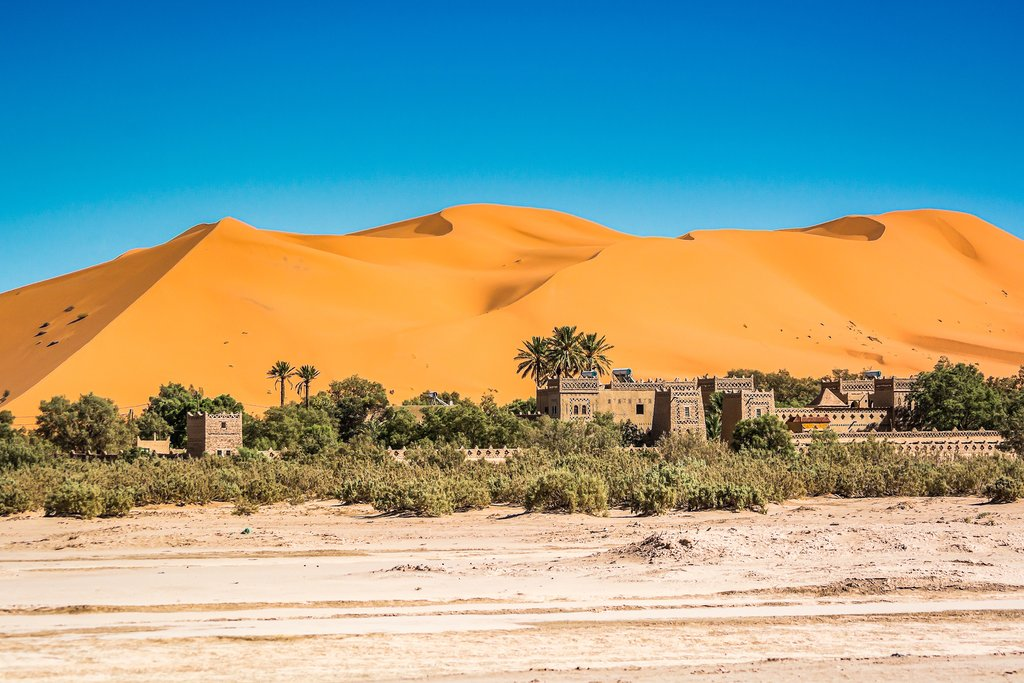 How to Get from Erfoud to Merzouga