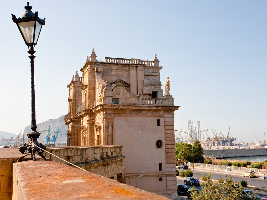 Italy - Sicily - Palermo - La Cala - Porta Felice