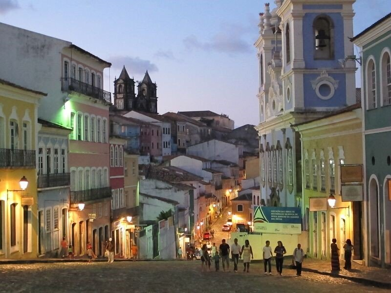 Historic buildings in Salvador