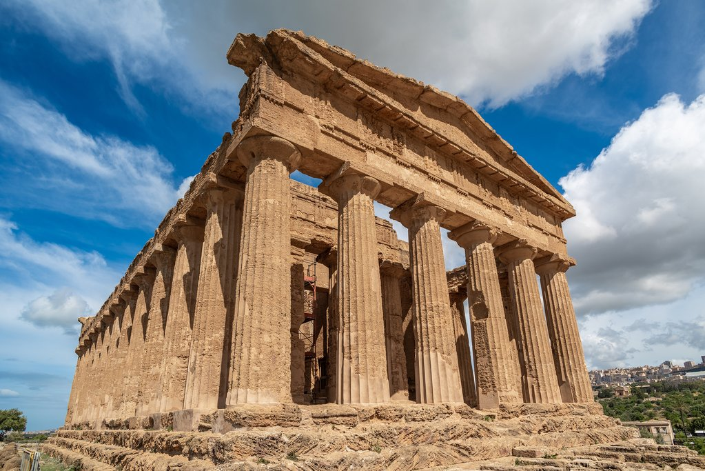 Italy - Sicily - Agrigento - Temple of Concordia