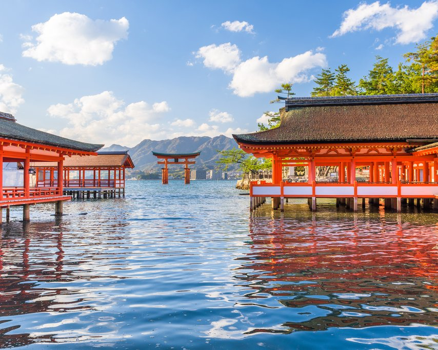 Miyajima Island's Great Torii