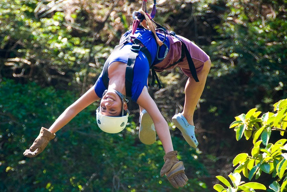 Go ziplining over White River Canyon