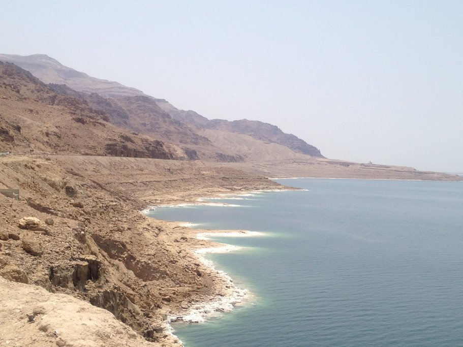 The Dead Sea shore