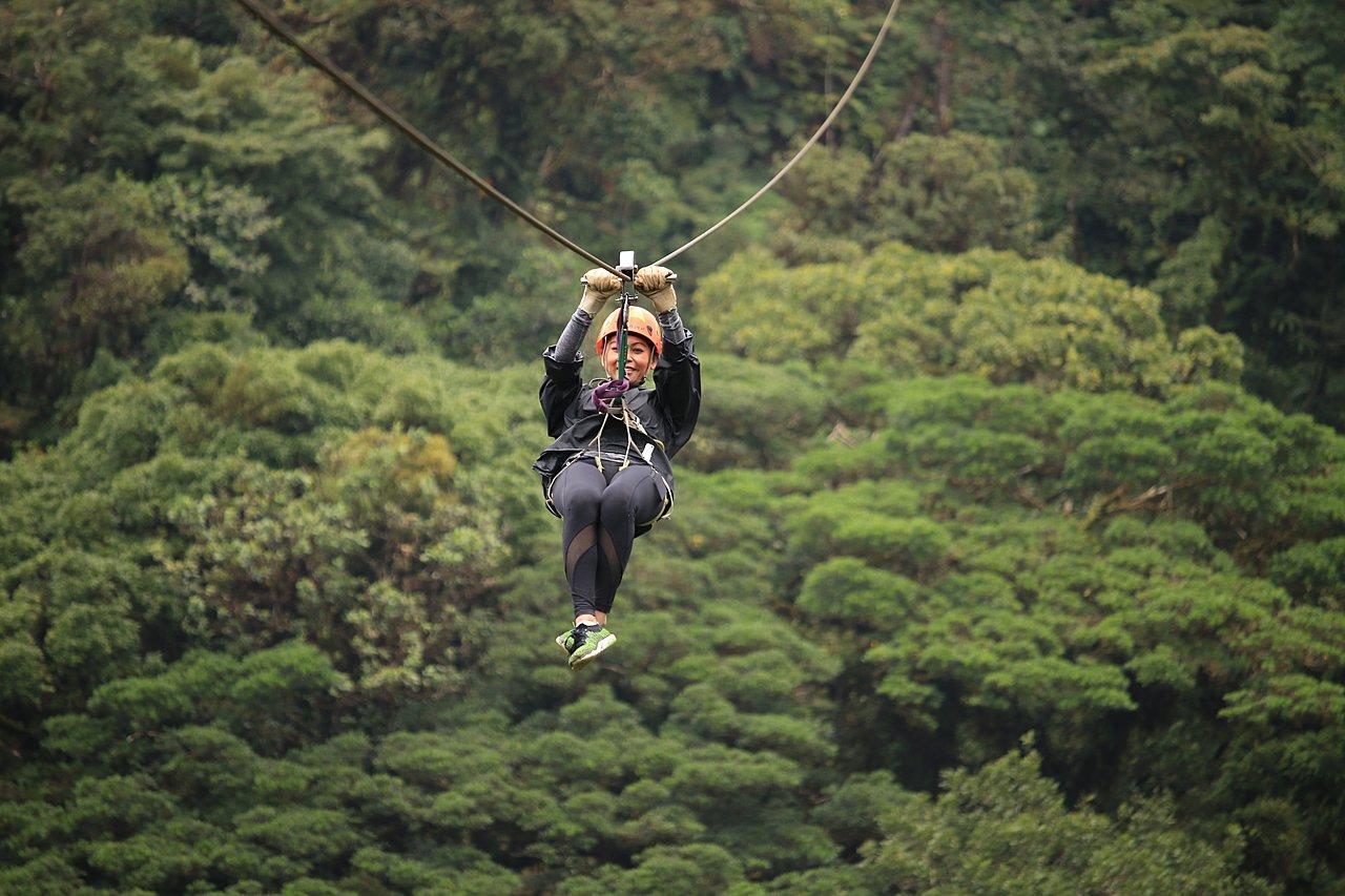 Zipline Tour in Monteverde