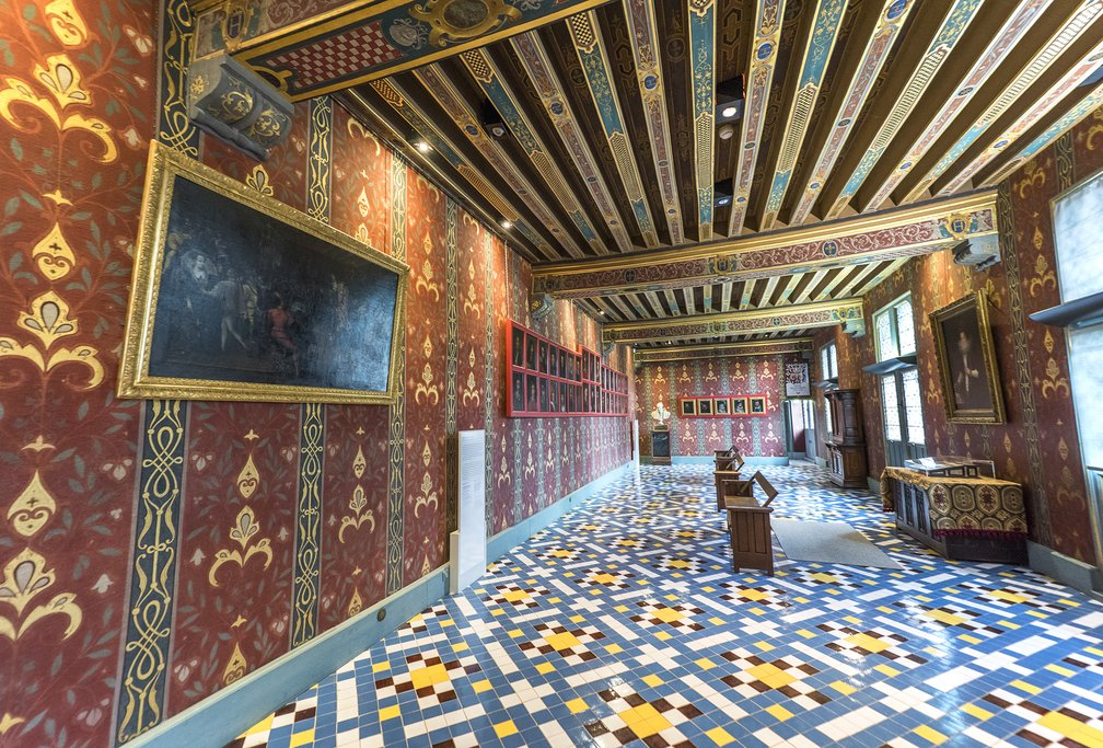 Queen's Gallery in the Blois castle