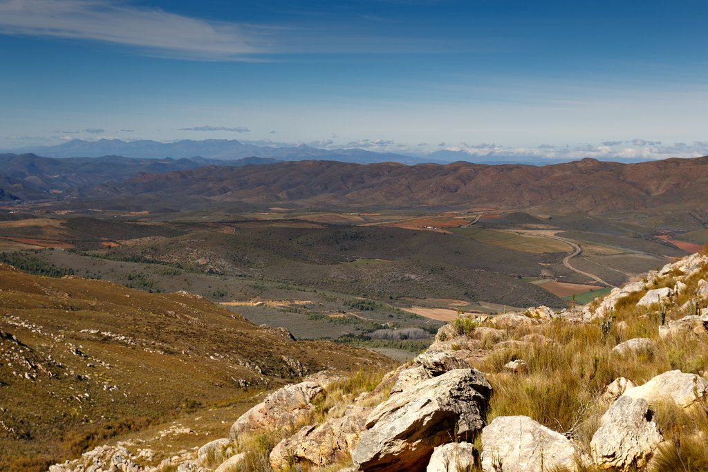 A view over Swartberg Pass