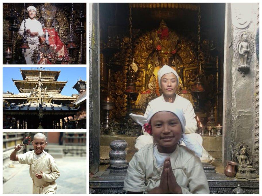 Newari Priest at Golden Temple