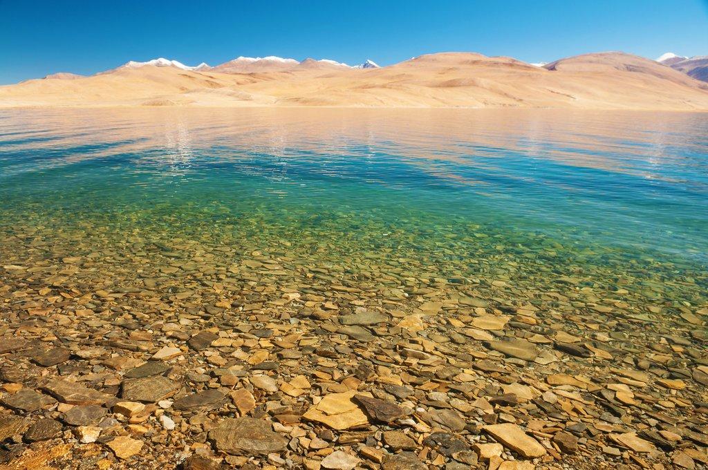 Himalayan lake Tso Moriri Tsomoriri