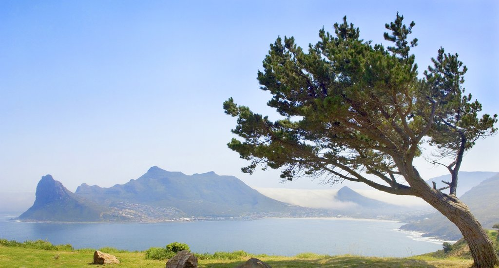 View of Hout Bay in the Western Cape