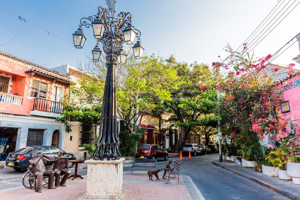Colorful Squares of Cartagena