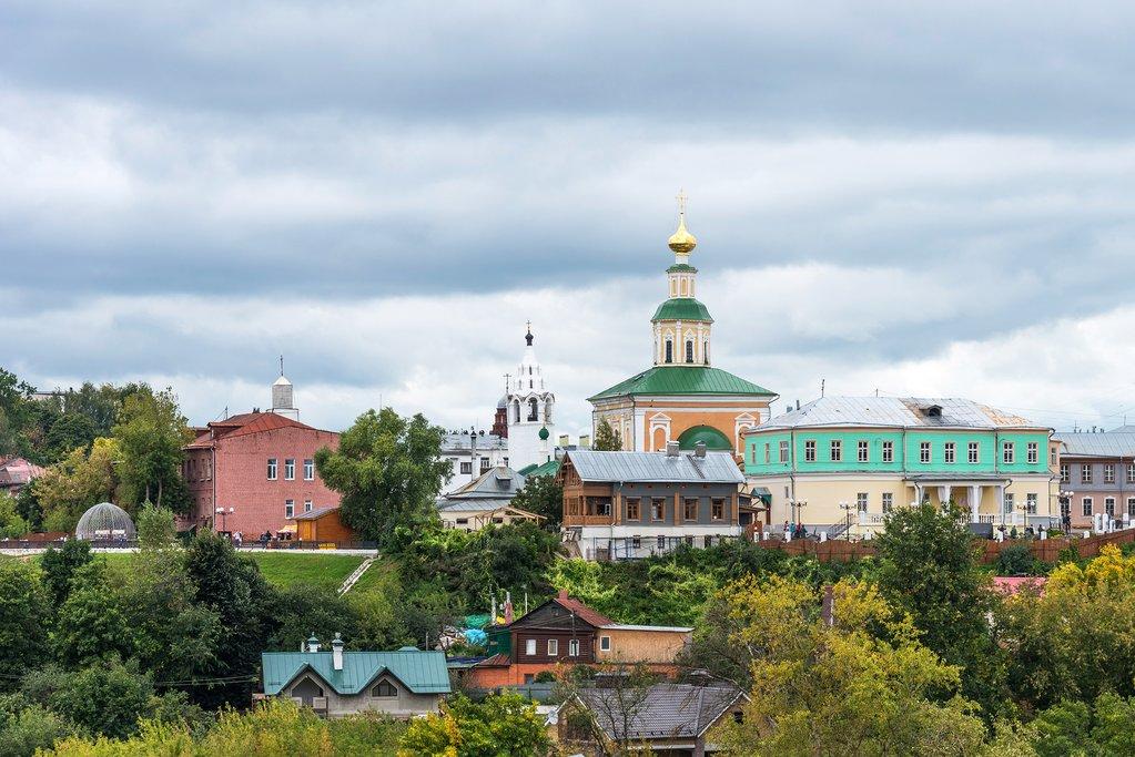 Historic Skyline of Vladimir, Russia