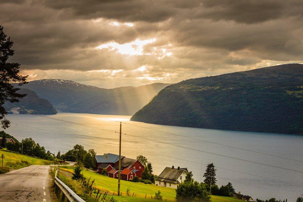 Utvik on the Nordfjord